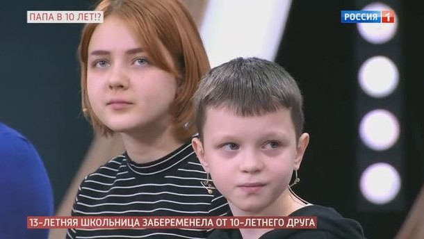13-Year-Old Russian Girl Pregnant For Her 10-Year-Old Boyfriend