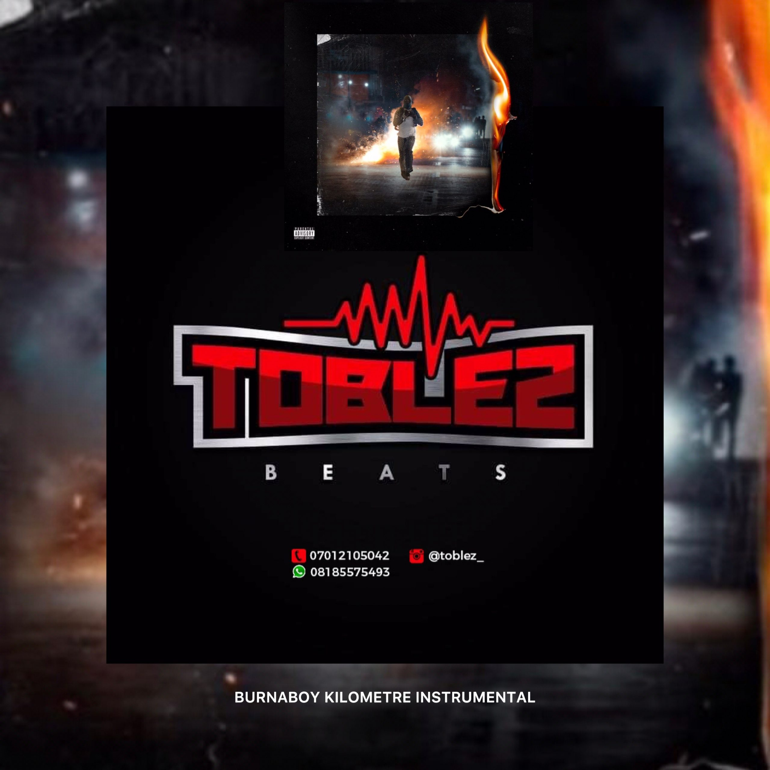[FREEBEAT] TOBLEZ – BURNA BOY KILOMETRE INSTRUMENTAL