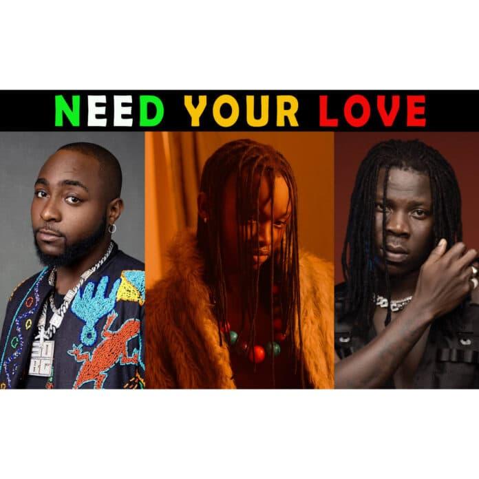 [MUSIC] AYANFE FT DAVIDO & STONEBWOY – NEED YOUR LOVE